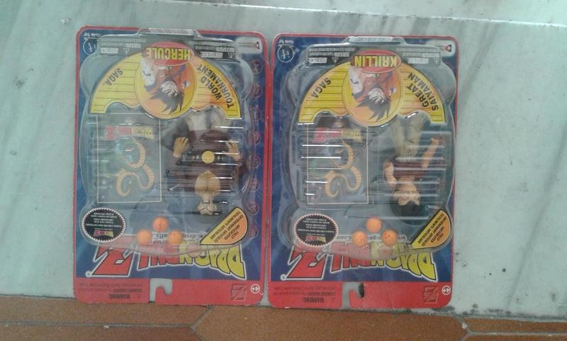 coppia dragon ball giochi preziosi anno 2000 23331410