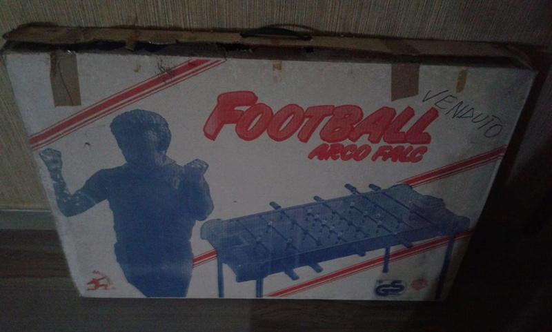 calcio balilla arco falc fondo di magazzino anni 80 29187210