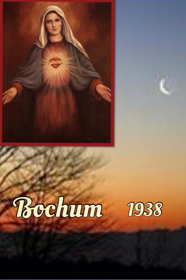 Les apparitions de la Très Sainte Vierge Marie dans le monde Bochum10