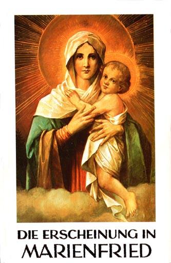 Les apparitions de la Très Sainte Vierge Marie dans le monde Marien10
