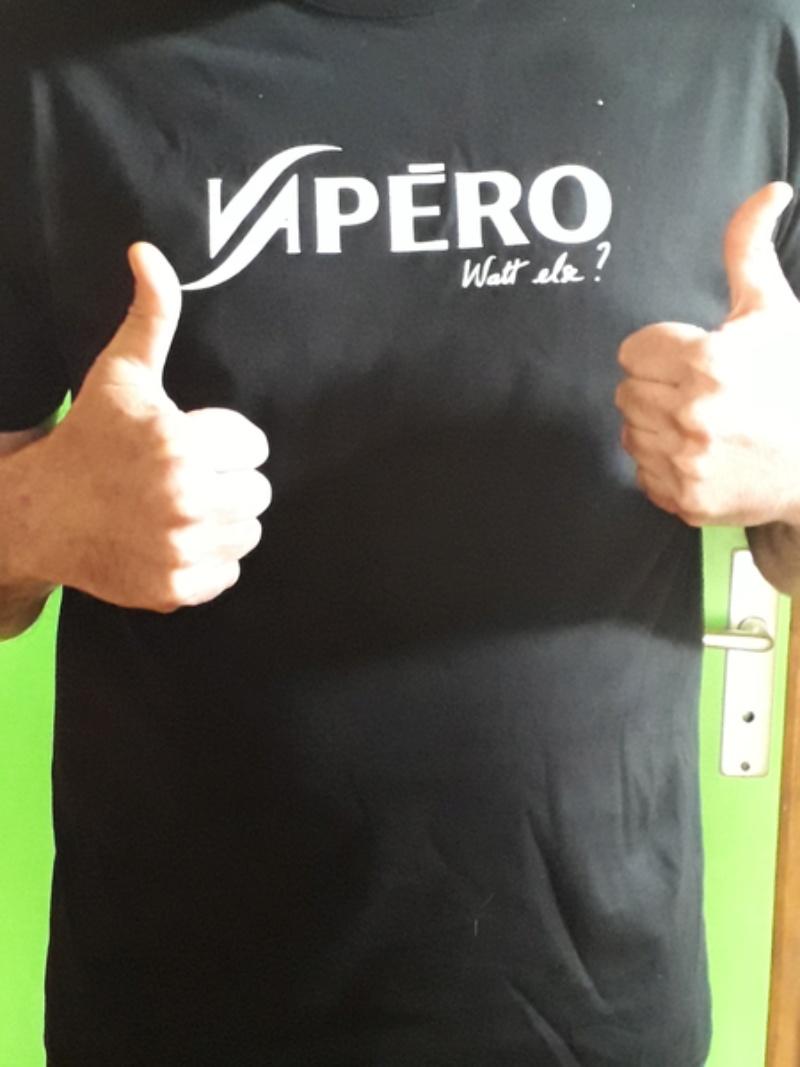 VAPERO le T-shirt qu'il vous faut 20180410