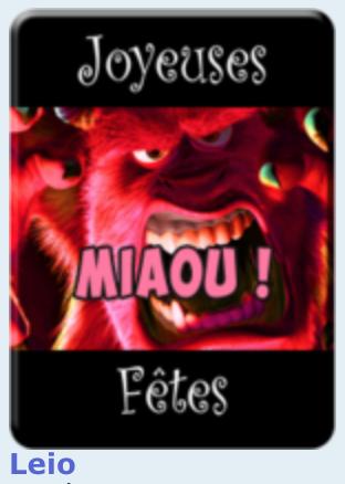 Concours d'avatars de Noël 2017 : LES VOTES Leio10