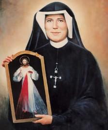 Sainte Faustine :  L'image de la Miséricorde du Seigneur 14060310