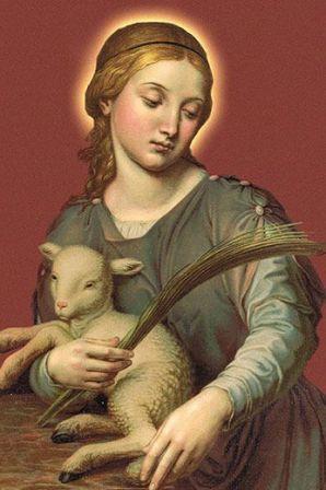 21 janvier Sainte Agnès de Rome 41a62110