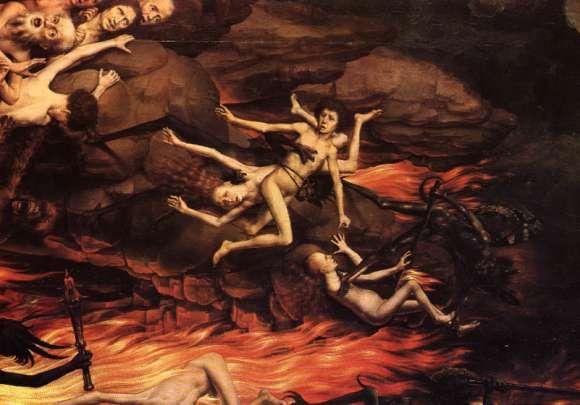 Sainte Faustine visite l'Enfer  Abaixo10