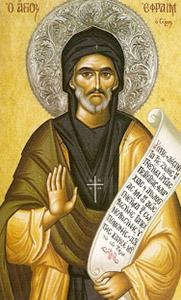 28 janvier : Saint Ephrem le Syrien Ephrem10