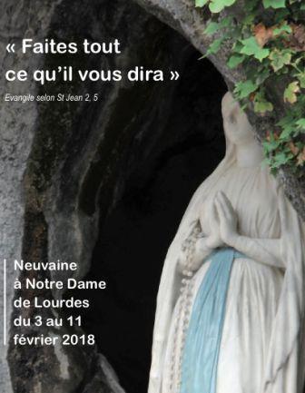 Du 3 au 11 février 2018 Neuvaine à Notre-Dame de Lourdes Image10