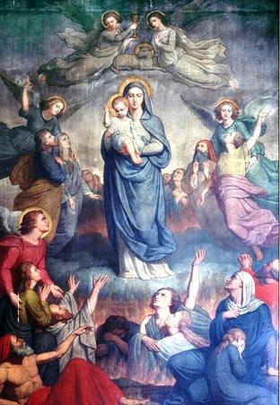 Saint Alphonse de Liguori et le Purgatoire Purgat11