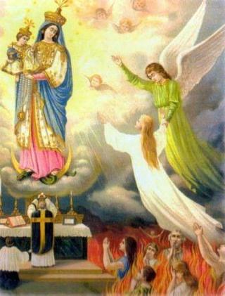 Prières de Sainte Gertrude pour les âmes du Purgatoire Sans-t10