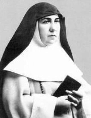 24 février Bienheureuse Ascensión del Corazón de Jesús Sans-t13
