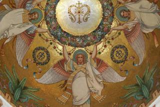 Sainte Faustine voit les Anges des églises Sans-t30