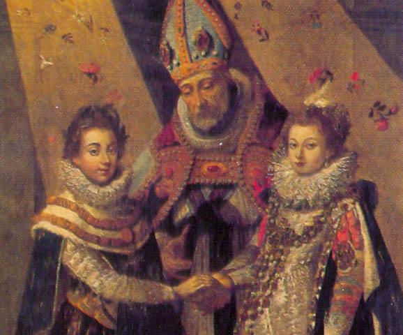 28 novembre 1615: Mariage de louis XIII et d'Anne d'Autriche à Bordeaux 0e98a523