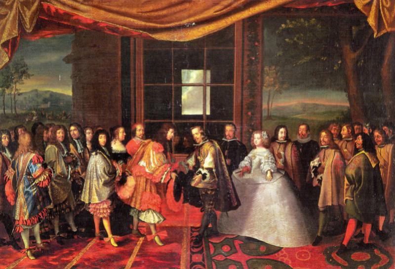 07 novembre 1659: Louis XIV vers les Pyrénées 1280px32