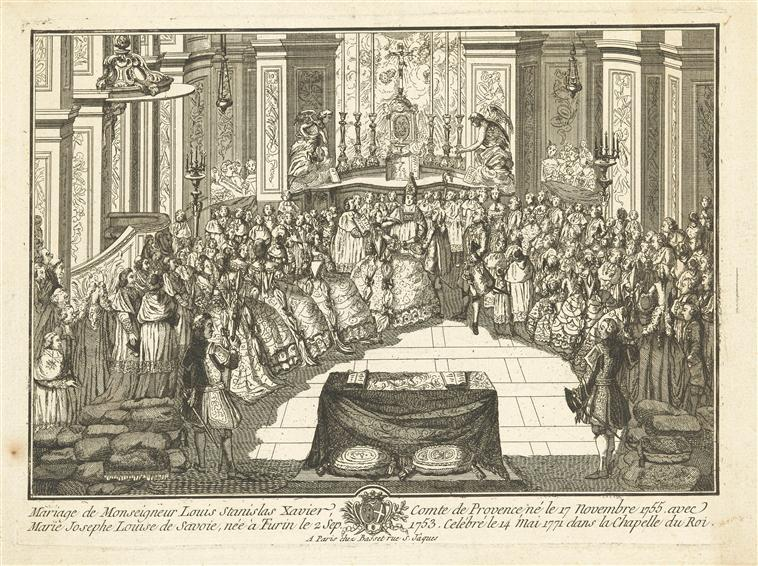 14 mai 1771: Mariage du comte de Provence avec la princesse Marie Josèphe de Savoie 14_mai10