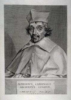 19 novembre 1629: Alphonse de Richelieu, archevêque d'Aix devient cardinal 220px132