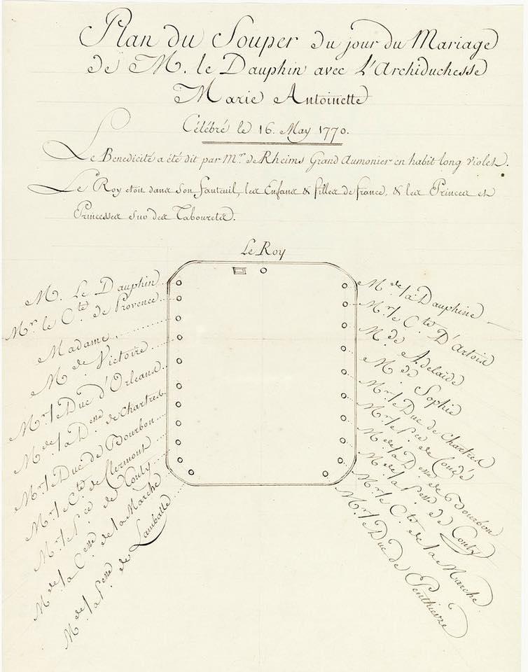 16 mai 1770: mariage du Dauphin, futur Louis XVI 32669610