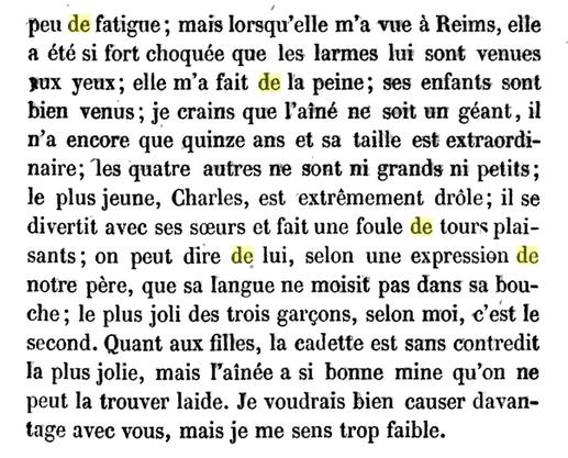 05 novembre 1722: Correspondance de La Palatine Avril131