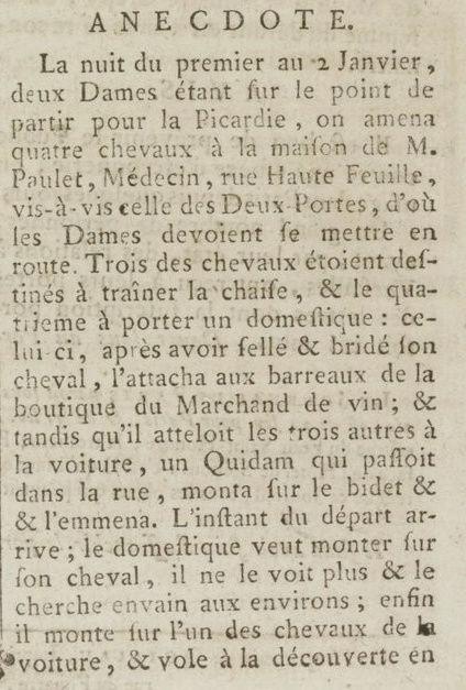 04 janvier 1777: Almanach Captu170