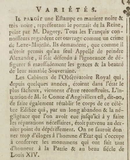 05 janvier 1777: Almanach Captu171