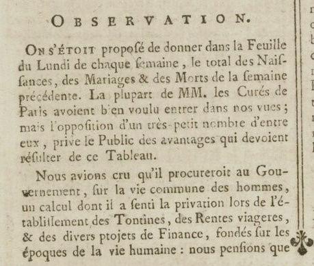 06 janvier 1777: Almanach Captu176