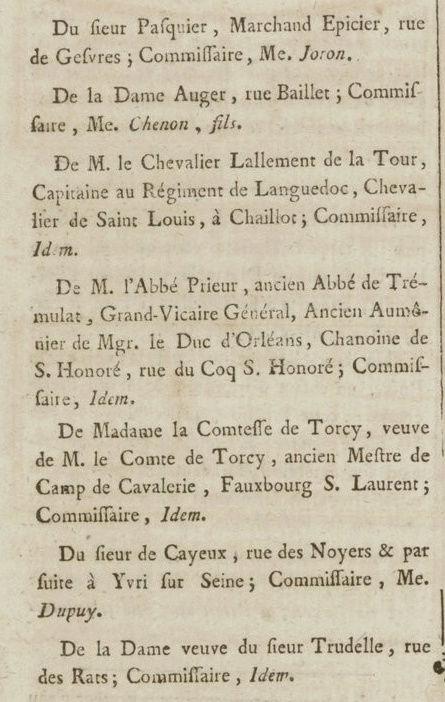 09 janvier 1777: Almanach Captu194