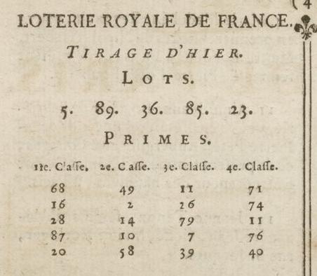 03 janvier 1777: Almanach Captu869