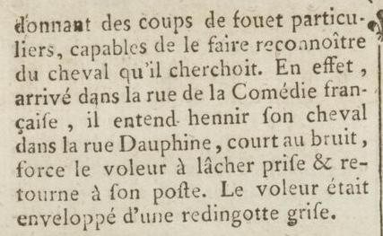 04 janvier 1777: Almanach Captu874