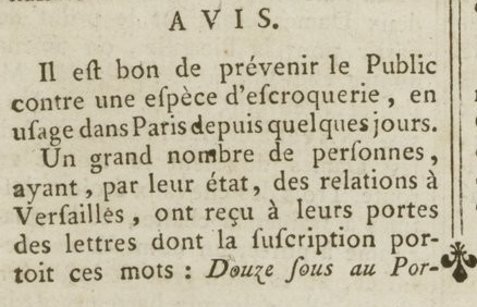 04 janvier 1777: Almanach Captu877