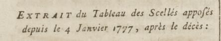 09 janvier 1777: Almanach Captu894