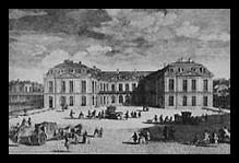 29 septembre 1757: Menu du souper de Louis XV, au château de Choisy Choisy10