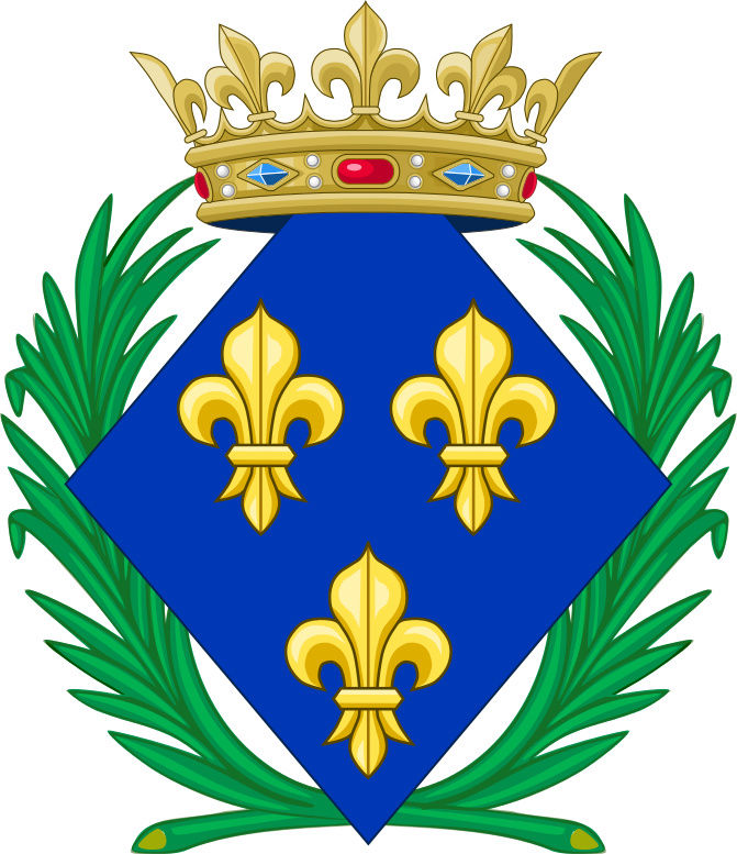 16 novembre 1664: Marie-Anne de Bourbon Coa_of11