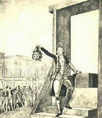 06 novembre 1793: Philippe-Égalité à la guillotine