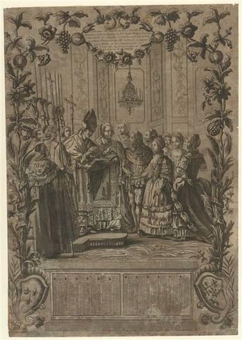 16 novembre 1773: Mariage du comte d'Artois avec la princesse Marie Thérèse  de Savoie