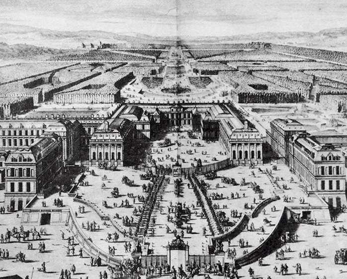 06 mai 1682: Le roi de France Louis XIV déménage  Versai16