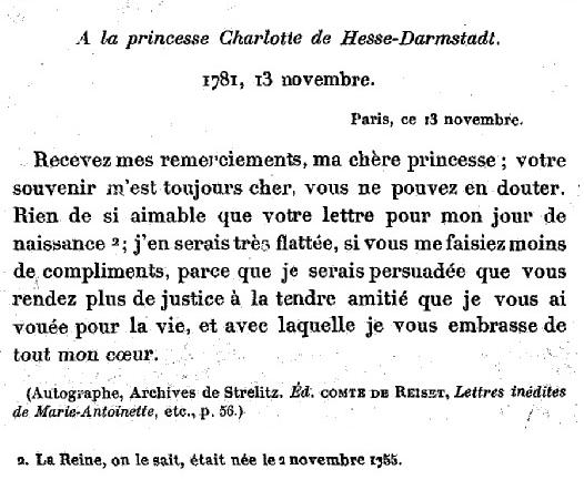 13 novembre 1781 Zzj31211