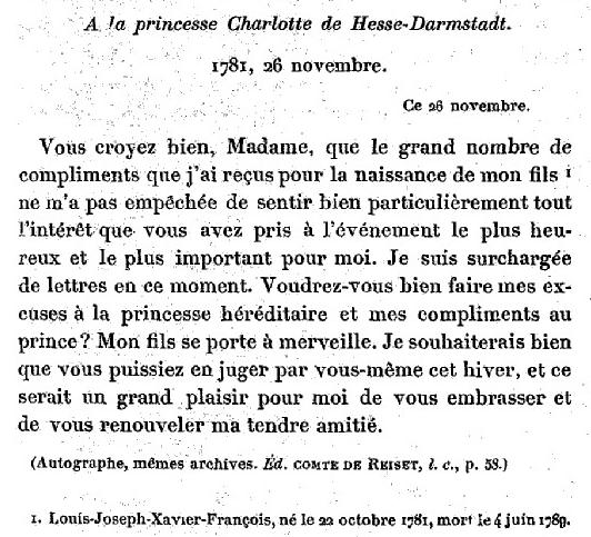 26 novembre 1781 Zzj31212