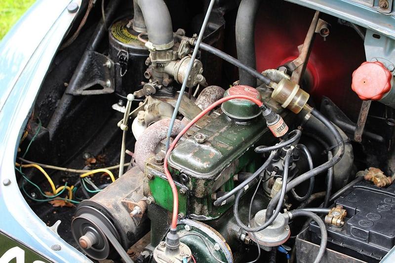 """Renault 4 cv """"pie"""" : la construction est terminée ! Moteur10"""