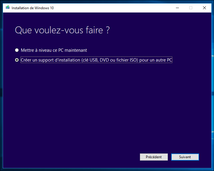 windows 10 en panne totale 110