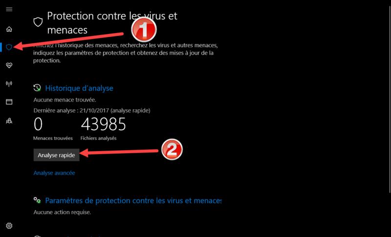 Windows defender paramètre grisé Defend10