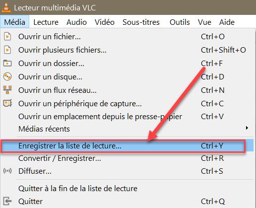 Ouvrir un fichier/répertoire avec VLC Vlc210