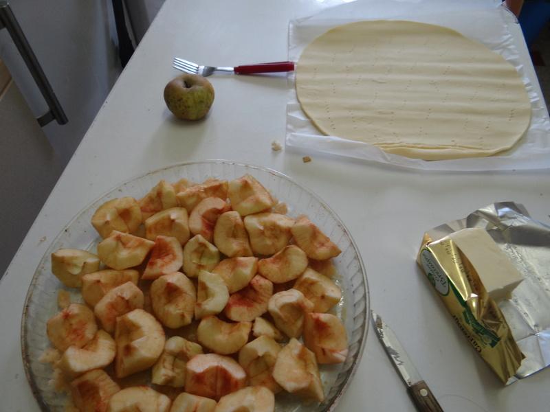 Tarte aux pommes Tatin Dsc08511