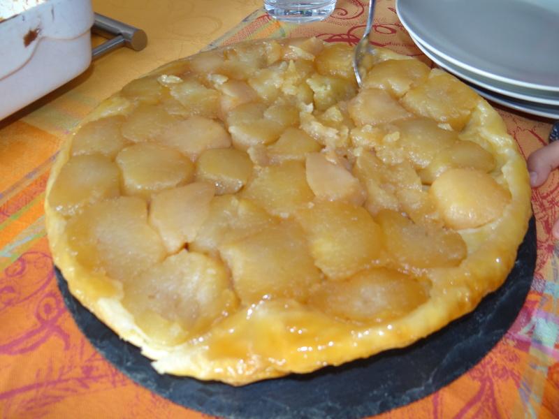 Tarte aux pommes Tatin Dsc08513