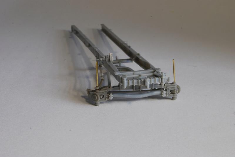 Scammel R100 Heavy Tractor Artillery - Thunder Model & Resicast 1/35 Dsc_0110