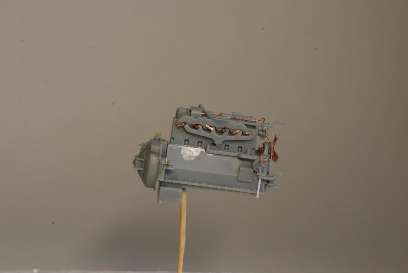 Scammel R100 Heavy Tractor Artillery - Thunder Model & Resicast 1/35 Dsc_0115