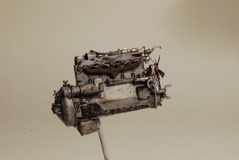 Scammel R100 Heavy Tractor Artillery - Thunder Model & Resicast 1/35 Dsc_0117
