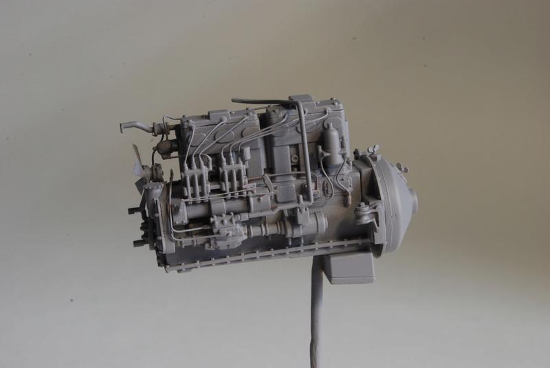 Scammel R100 Heavy Tractor Artillery - Thunder Model & Resicast 1/35 Dsc_0118