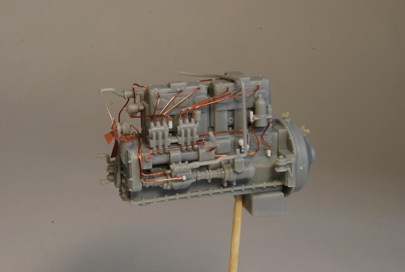Scammel R100 Heavy Tractor Artillery - Thunder Model & Resicast 1/35 Dsc_0119