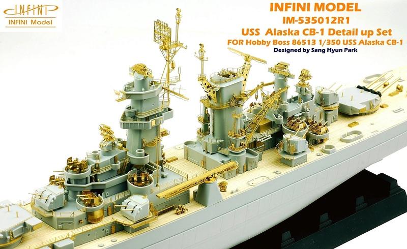 USS Alaska CB-1 (Hobby Boss 1/350°) par horos 22770810