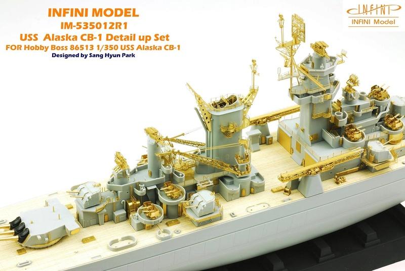 USS Alaska CB-1 (Hobby Boss 1/350°) par horos 22792110