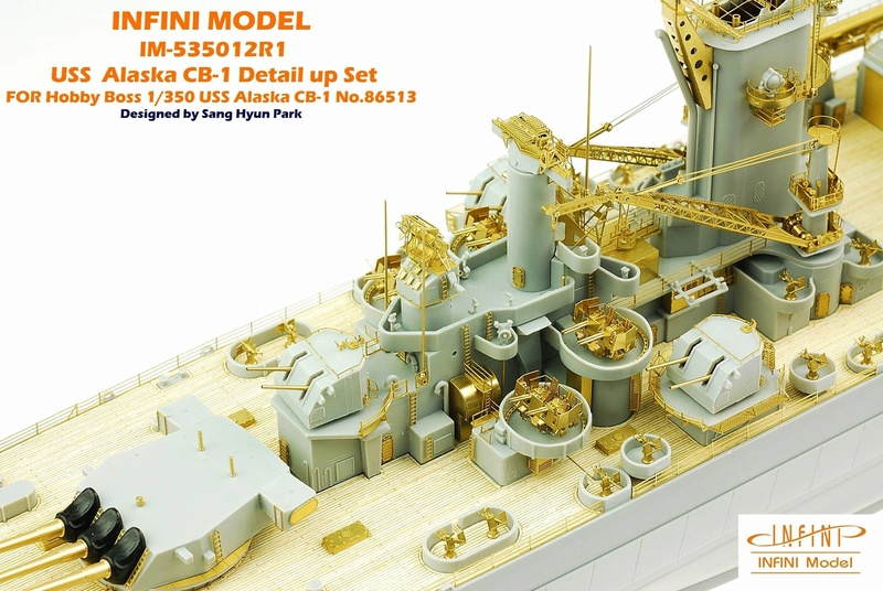 USS Alaska CB-1 de Hobby Boss 1/350ème 22861410